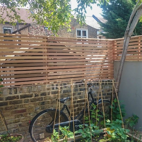 Contemporary Fencing From London Stone