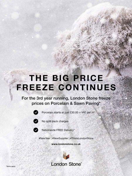 London Stone's Price Freeze