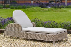 Use A Rattan Sun Lounger To Create The Ideal Staycation