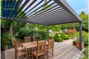 Why You Need A Metal Pergola With Sides This Spring