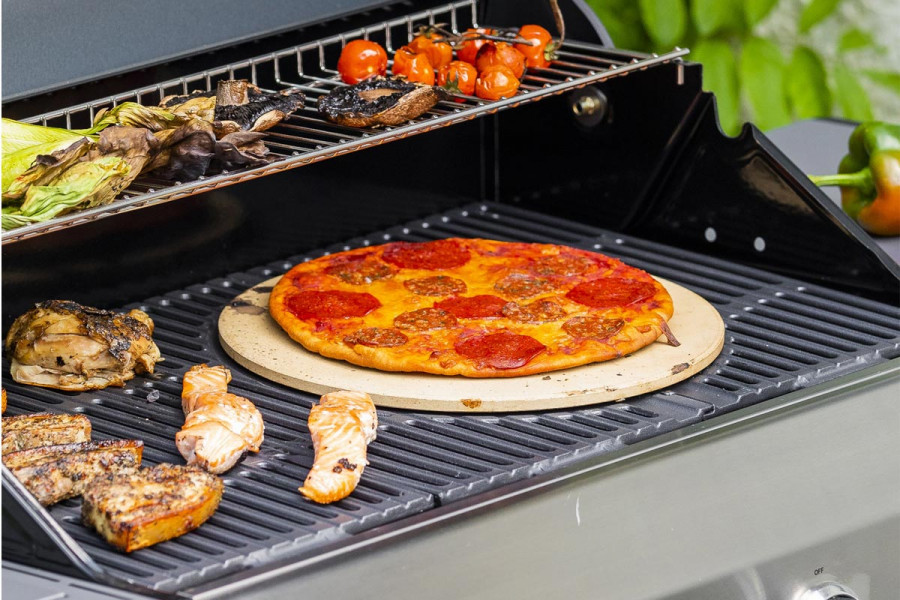Try home made pizza on the BBQ for something different.