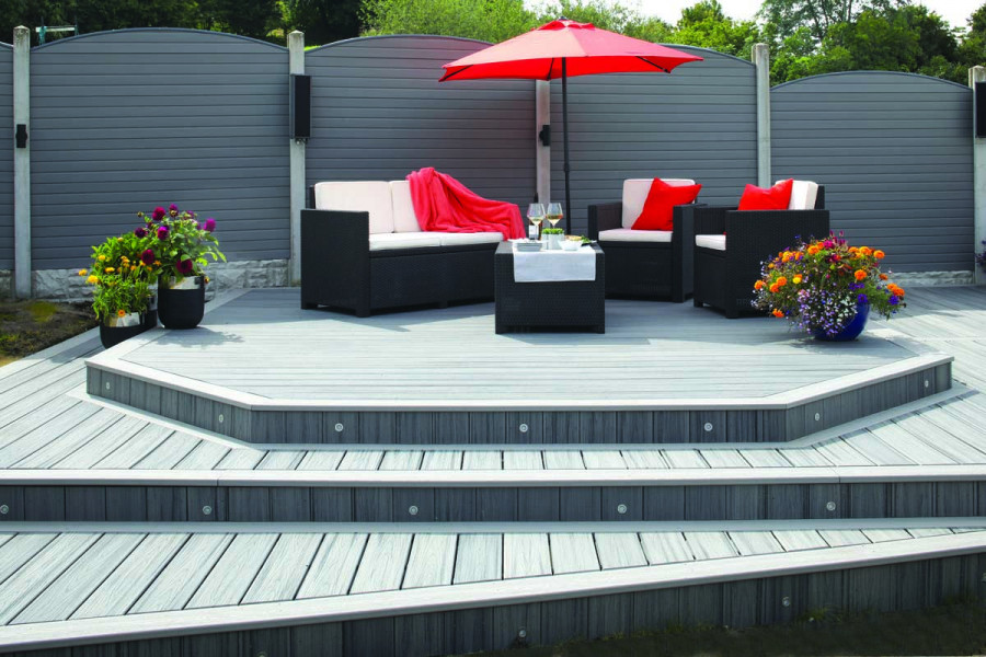 A real statement decking area is the perfect place to relax and unwind.