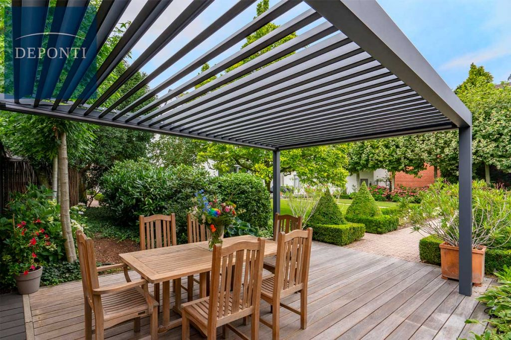 Metal Pergolas are ideal for bringing style and shelter to the garden.