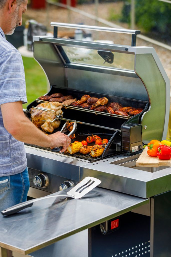 A Hybrid BBQ is ideal for cooking the perfect barbeque.