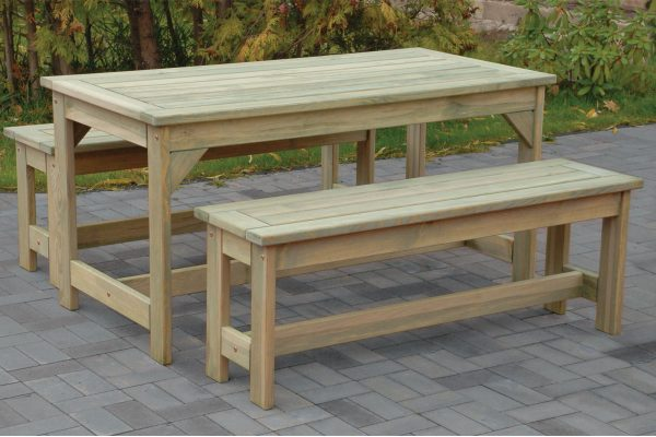 How To Style A Rustic Farmhouse Table With Bench