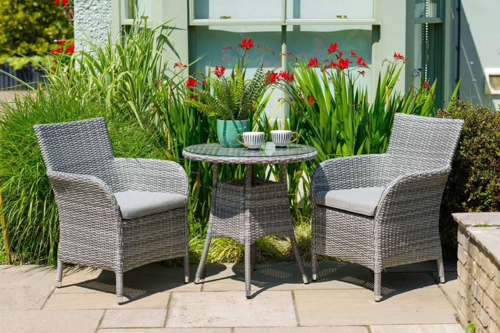 Rattan garden furniture will add luxury to the garden, whilst its synthetic material mean it requires minimal maintenance.