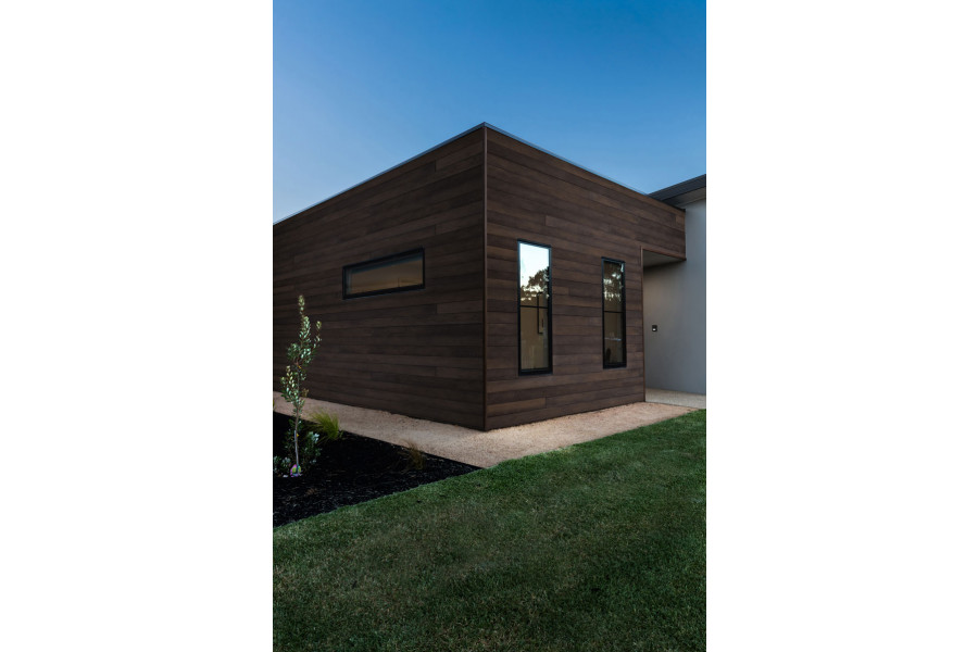 Millboard Cladding can be used to create unique and stunning out buildings.