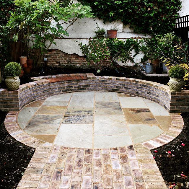 Facing bricks are perfect as garden walling.