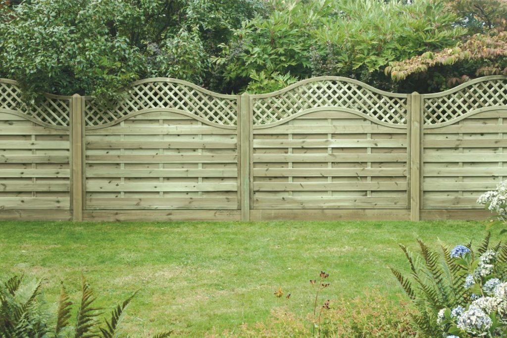 Redcedar wood fencing will bring a classic feel to the garden.