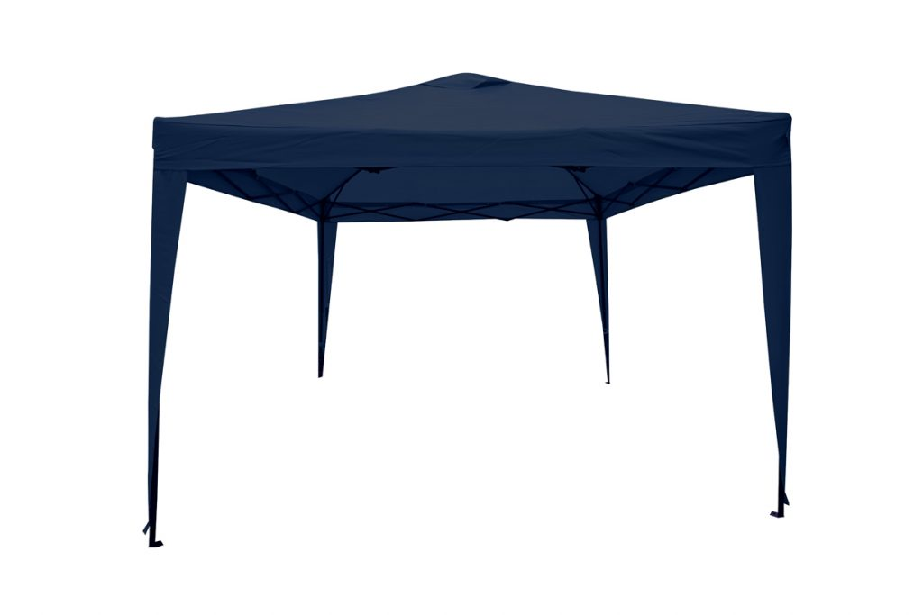 Quick and easy to install a gazebo can provide instant protection from the rain.
