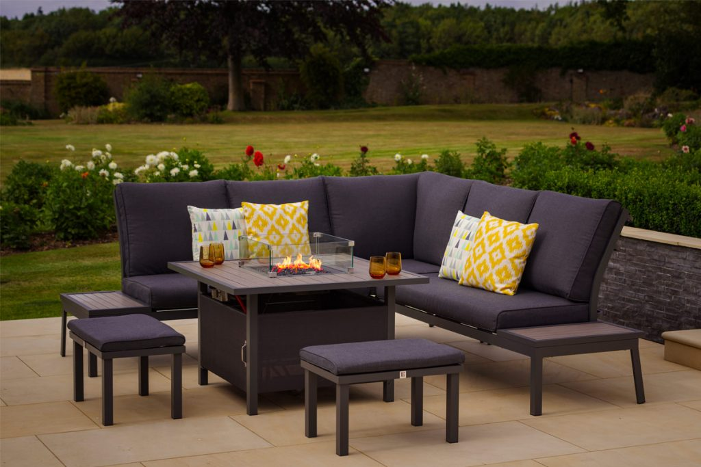 Keep this garden furniture looking its best with minimal maintenance.