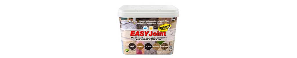 tub of easyjoint patio grouting for pointing paving from london stone