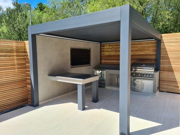 Why Your Garden Needs A Modern Metal Pergola