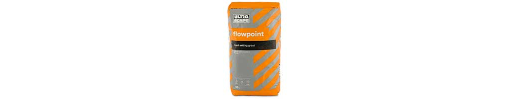 A 25kg bag of Flowpoint patio grouting from London Stone