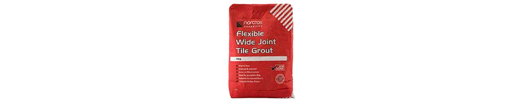 A 10kg bag of Norcros Flexible Wide3 Joint Tile Grout, pointing for paving,supplied by London Stone
