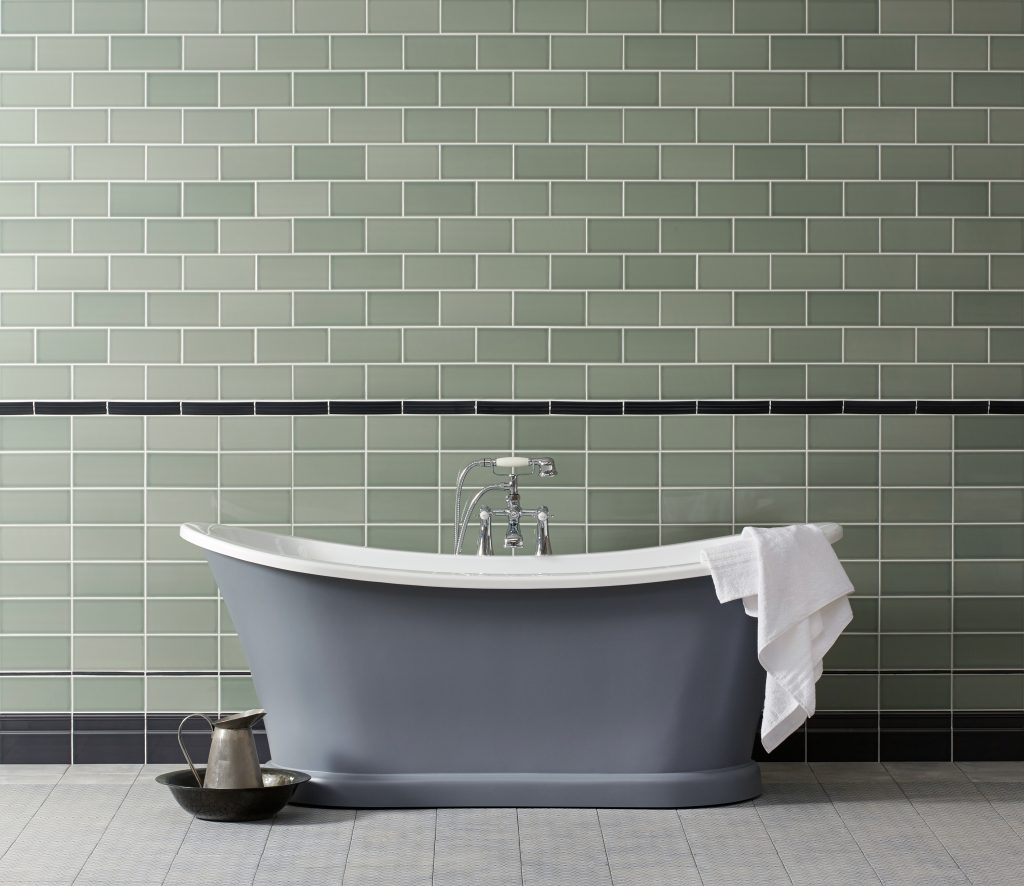 Our ceramic walls tiles can transform your bathroom into your personal spa.