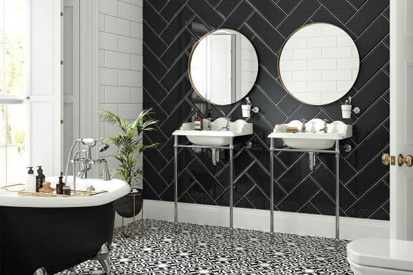 Patterned Bathroom Floor Tiles – Styling Tips