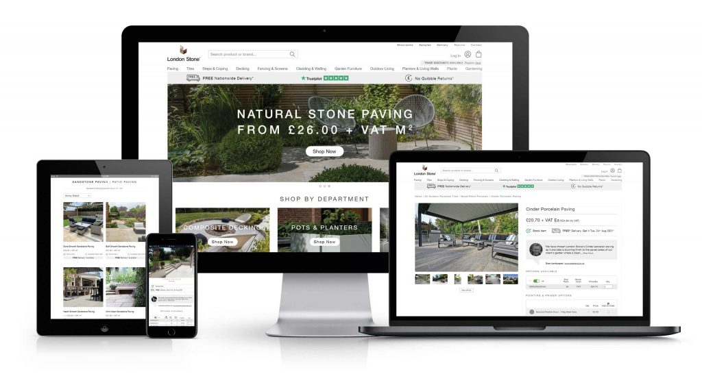 Our E-commerce site offers everything customers need whilst we are closed for the bank holiday.