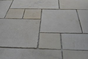 Antique Cream Sandstone tumbled shotblasted from London Stone