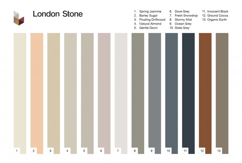 Ardex Pointing Colour Chart new