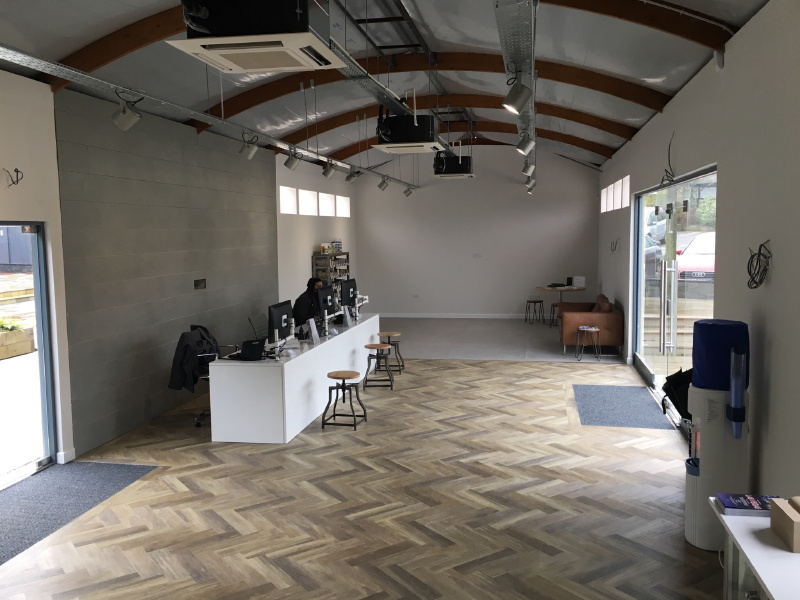 London Stone Creates A Warmer Welcome With Kent Showroom Refurb