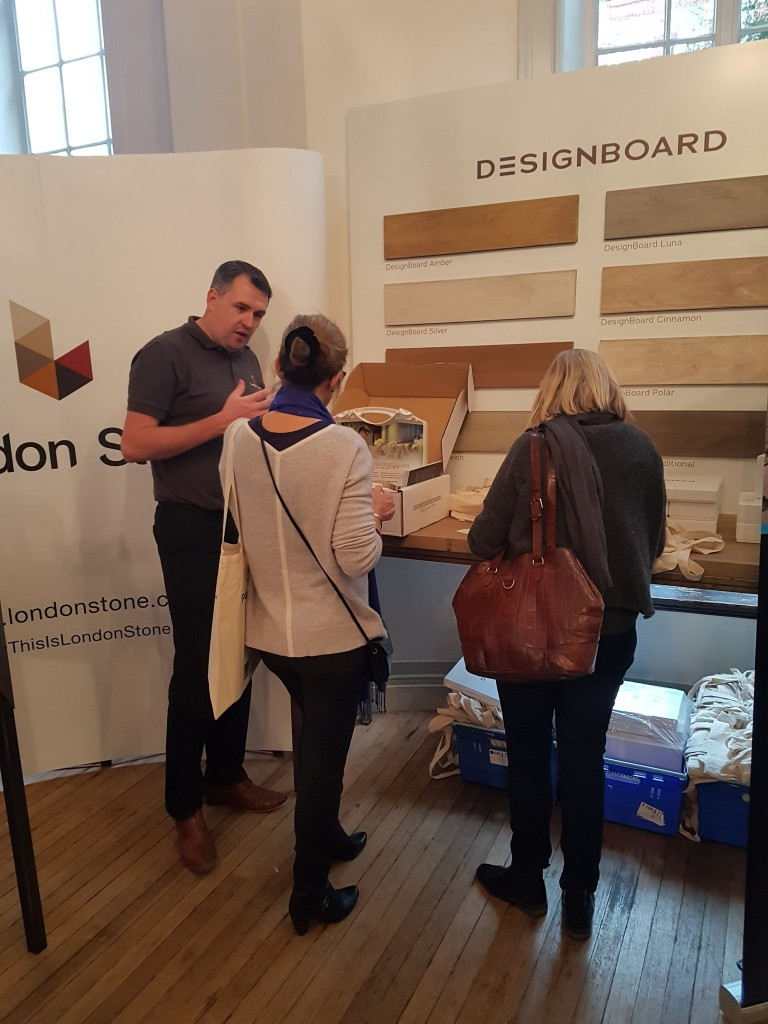 London Stone Display Designer-friendly Products At The SGD Autumn Conference 2017