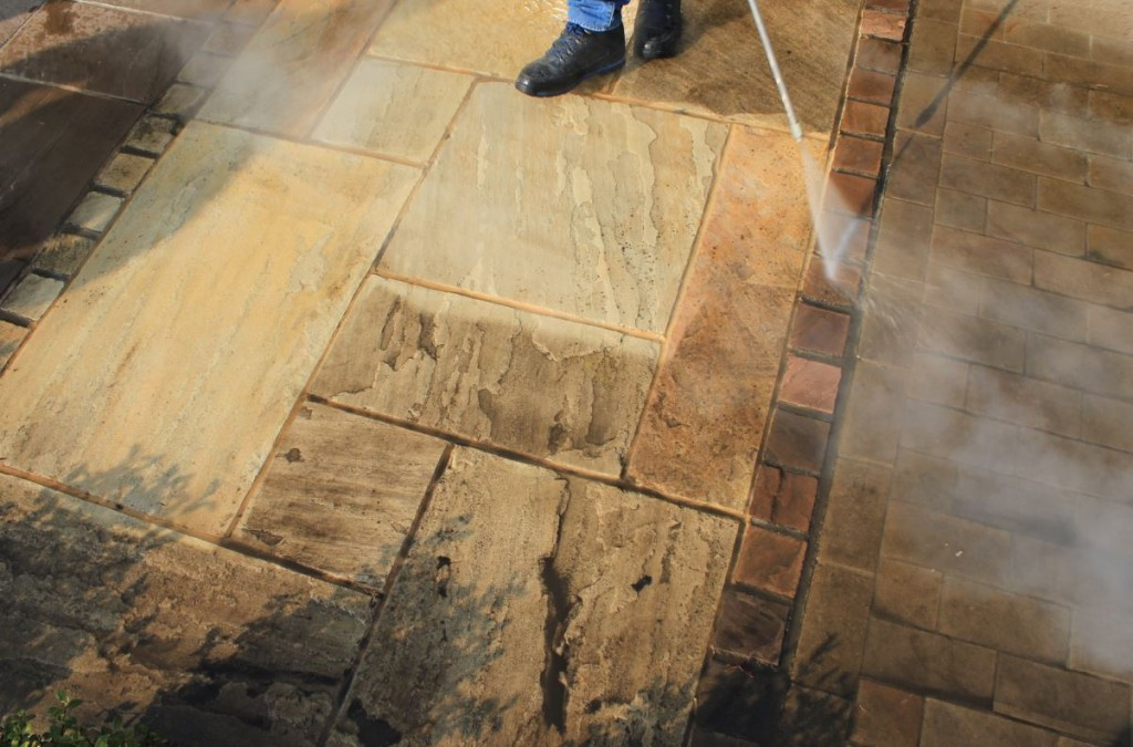 London Stone's Cleaning Service restores your patio's mojo