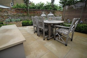 Looking for new patio ideas for a town garden?